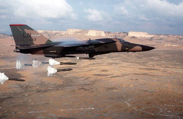 General Dynamics F111 Aardvark.