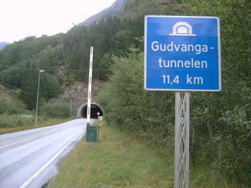Gudvangen Tunnel