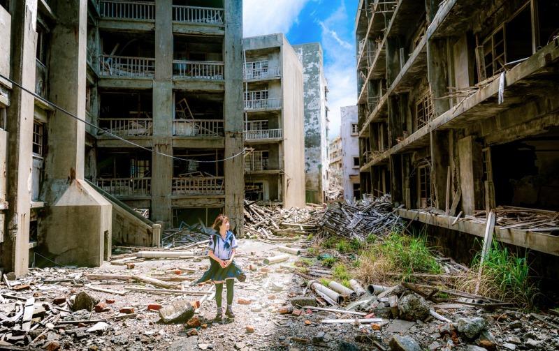 Hashima verlaten eiland james bond