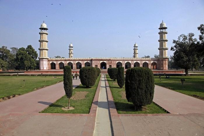 Het mausoleum van Jahangir