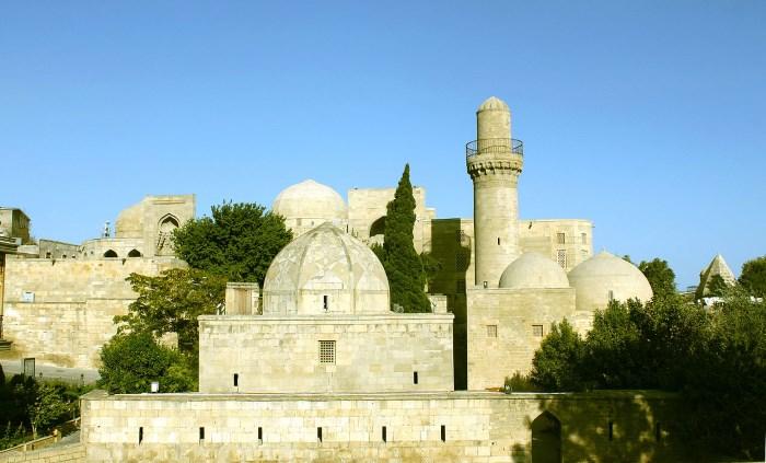 Het mausoleum van de Shirvanshah