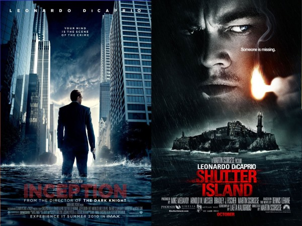 Inception en Shutter Island