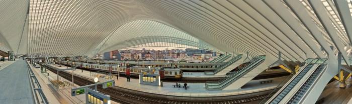 Luik-Guillemins trein station
