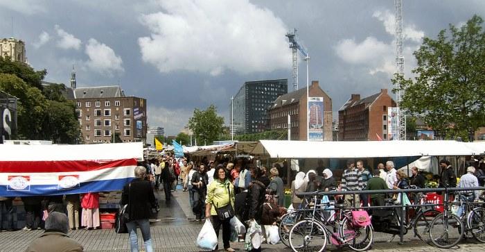 Markt aan het Binnenrotteplein