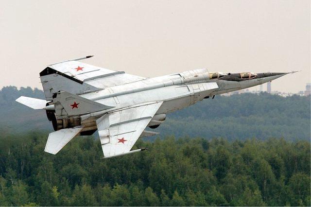 MiG 25 Foxbat.