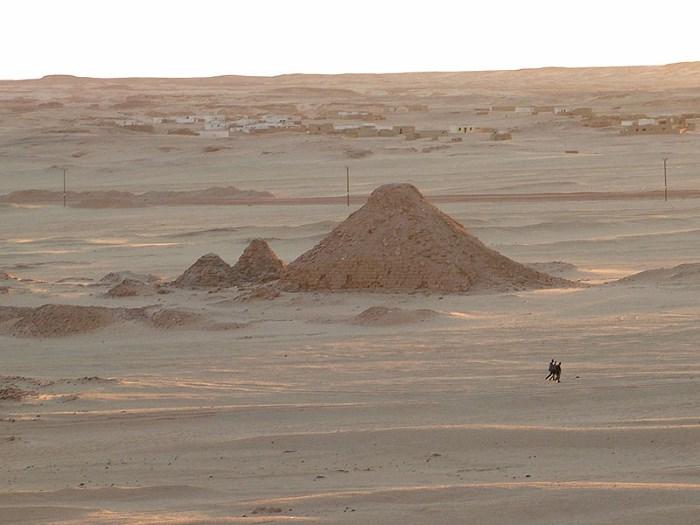 Nubische piramides bij de Djebel Barkal