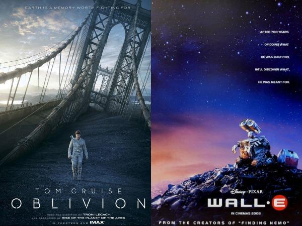 Oblivion en Wall-E