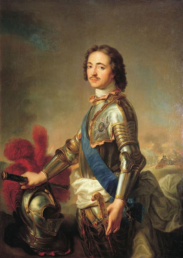 Peter I van Rusland
