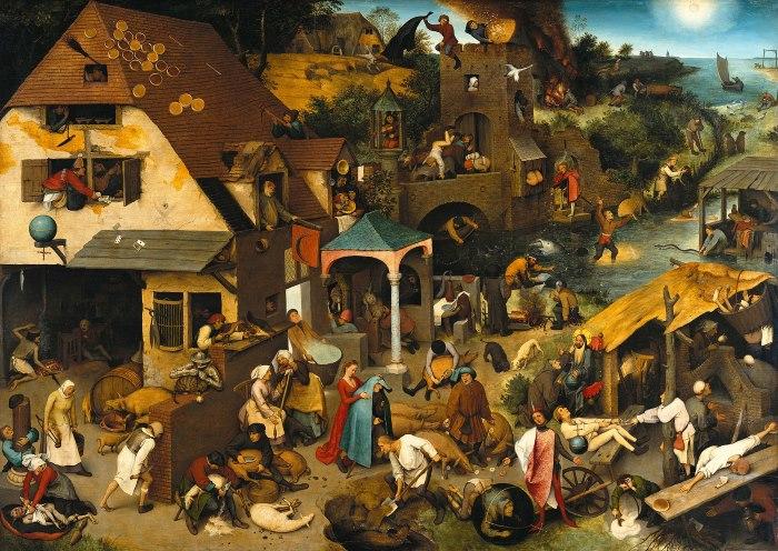 Pieter Brueghel nederlandse spreekwoorden