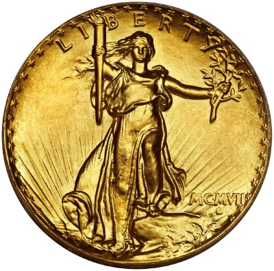 Saint-Gaudens Double Eagle - Ultra High Relief