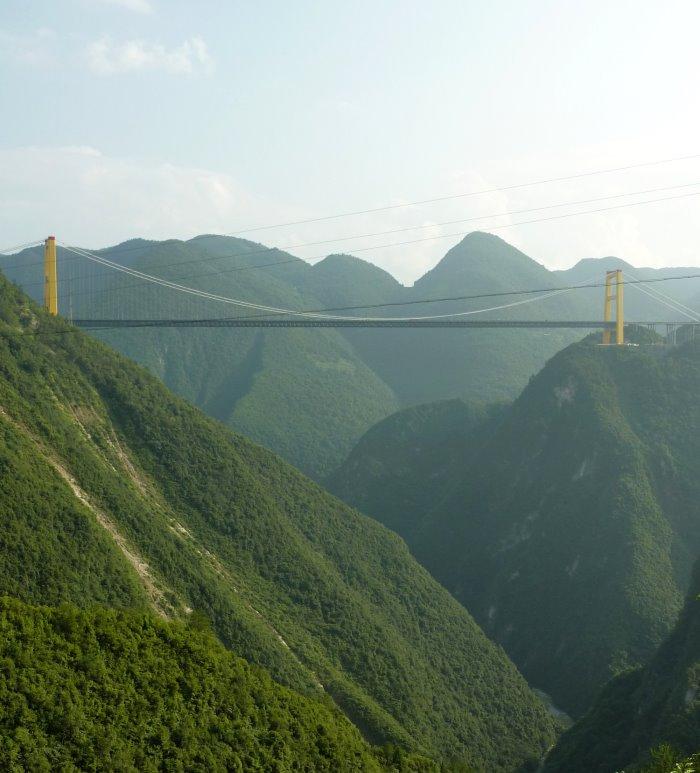 Sidu River Brrug (hoogste ter wereld)