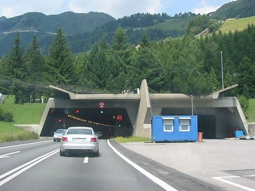St. Gotthard tunnel