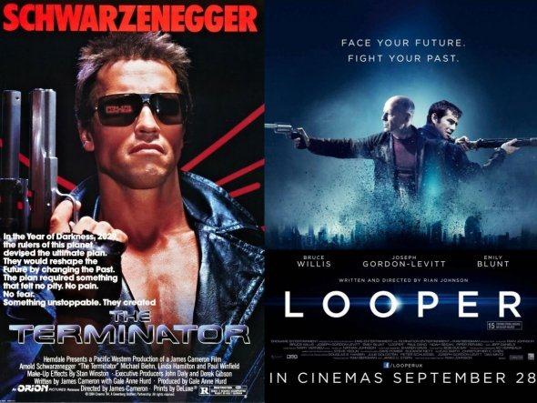 Terminator Terminator 2 en Looper
