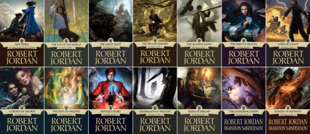 The Wheel of Time, Robert Jordan