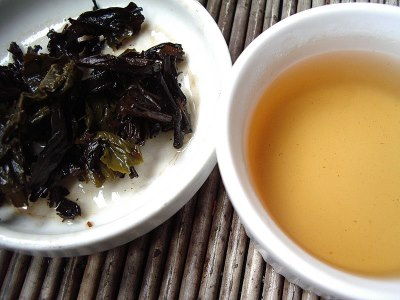 Tieguanyin thee