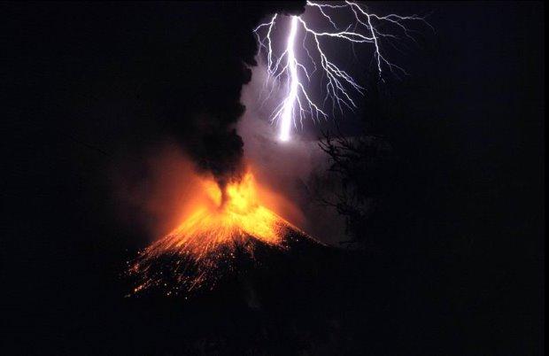 Vulkanische bliksem