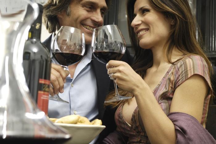 Wijn consumptie