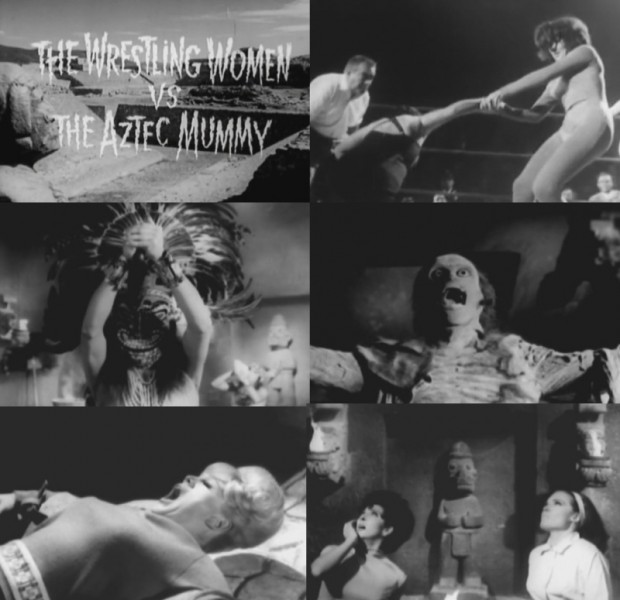 Wrestling Women Vs. The Aztec Mummy