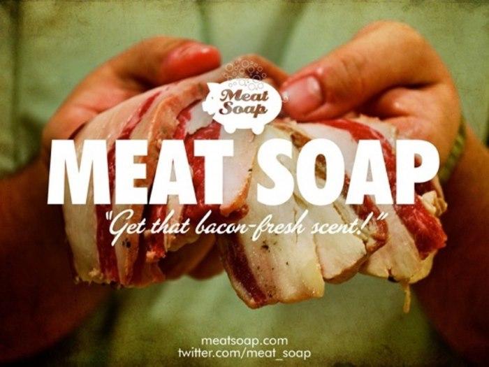 Zeep van vlees