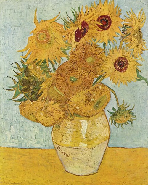 zonnebloemen van gogh waarde