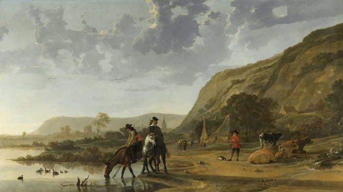 albert cuyp riveierlandschap