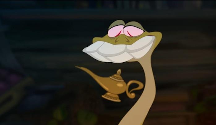 alladin prinses en kikker