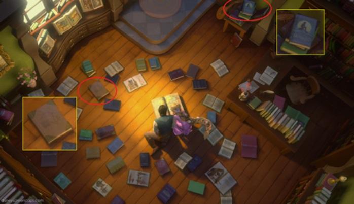 boeken in tangled