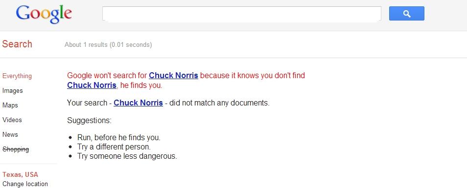 chuck norris zoekt jou