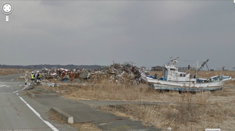 fukishima street view