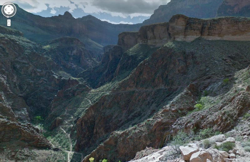 grand canyon street view