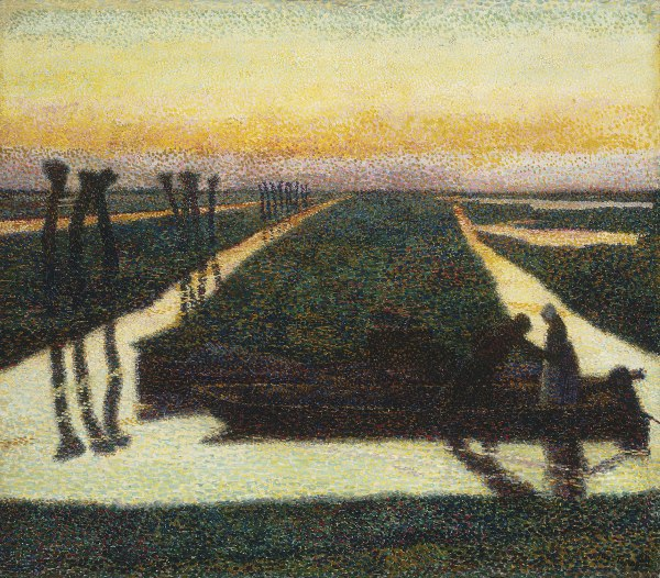 jan toorop broek in waterland