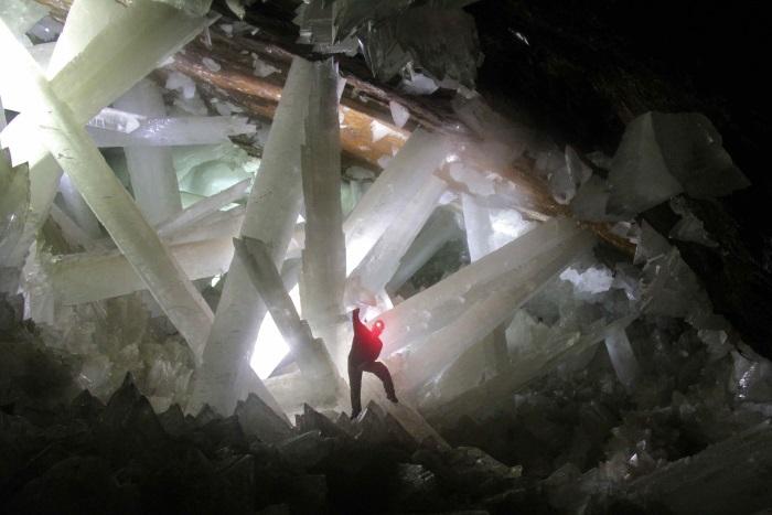 kristallen grot