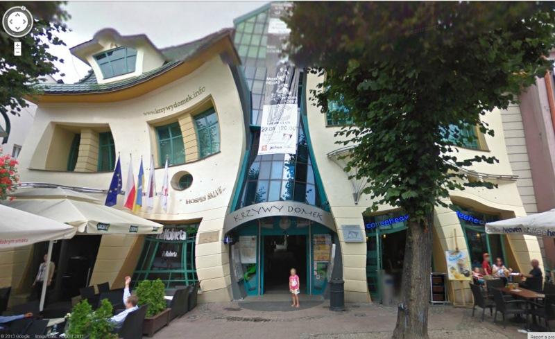 kromme gebouw