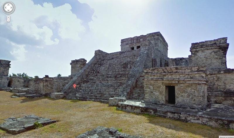 maya op google streetview