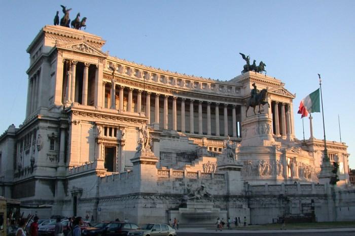 monument van Victor Emanuel II