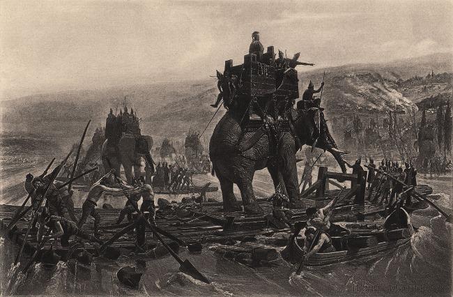 olifant in oorlog