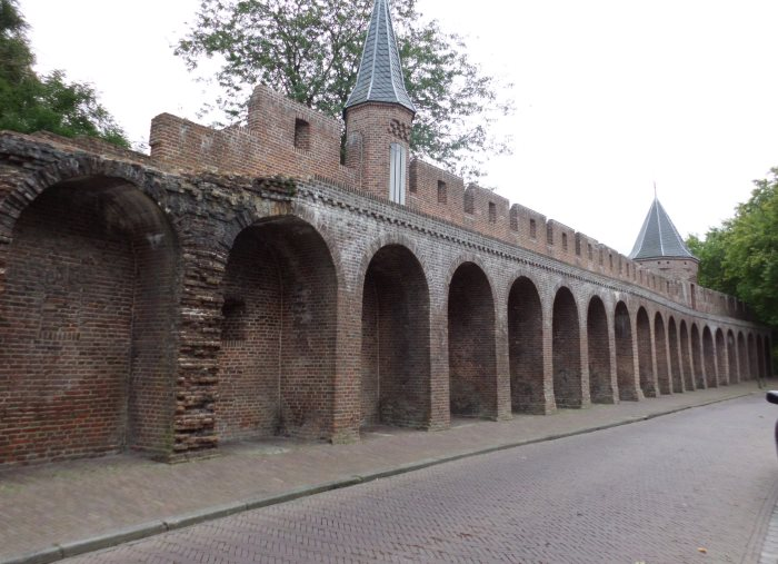 oude stadsmmur