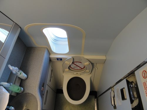 vliegtuig wc