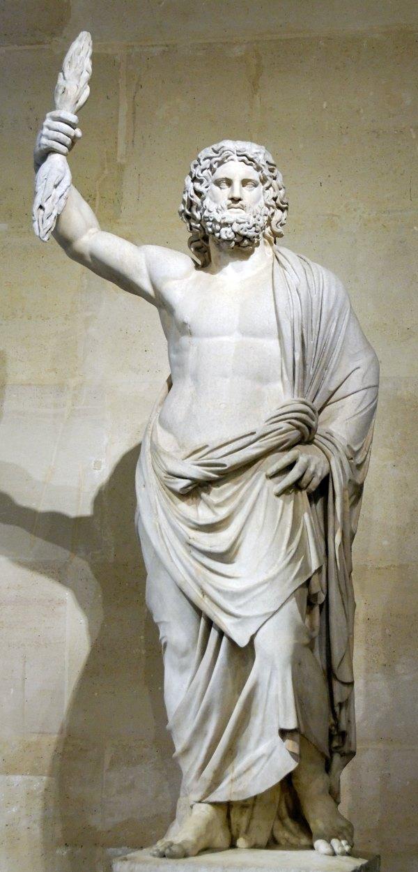 Romeinse god van de kunst